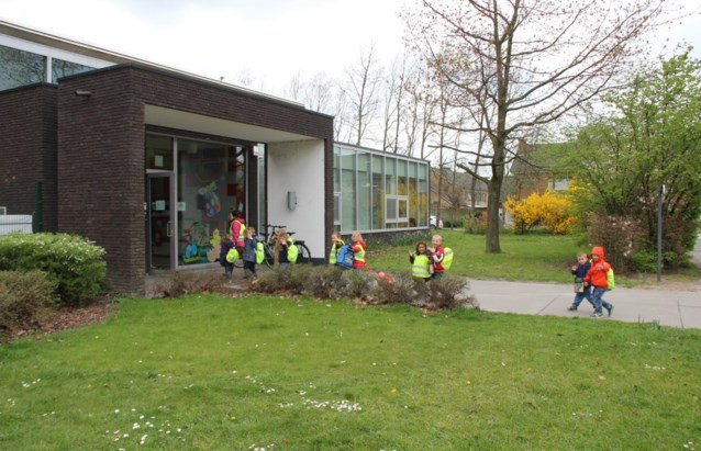 Buitenschoolse kinderopvang De Speelwolk aan het Hoogbouwplein in Zelzate.