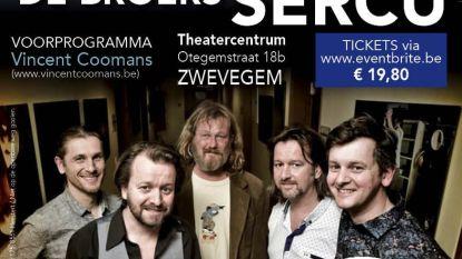 Optreden met broers Sercu voor Reveil vzw