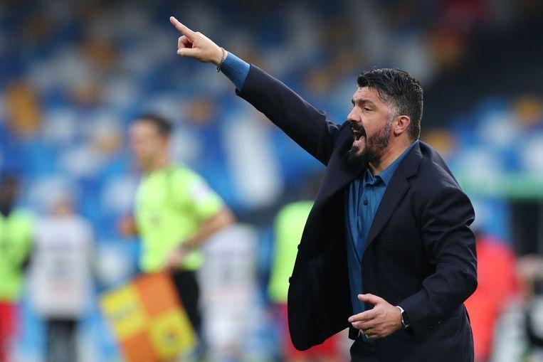 Gennaro Gattuso heeft nog niet veel plezier beleefd aan z'n periode als coach bij Napoli.