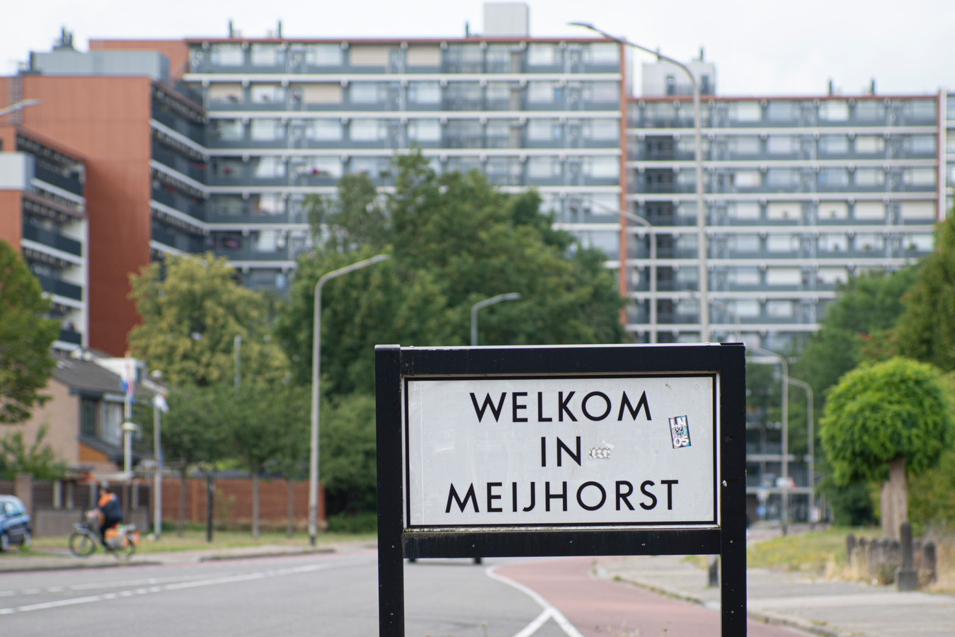 De =60ste straat Meijhorst in Nijmegen.
