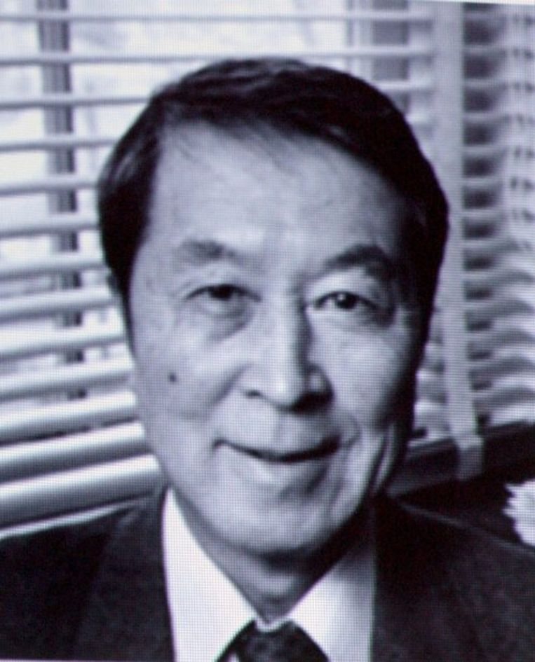 Yoichiro Nambu. Foto EPA/Fredrik Persson Beeld