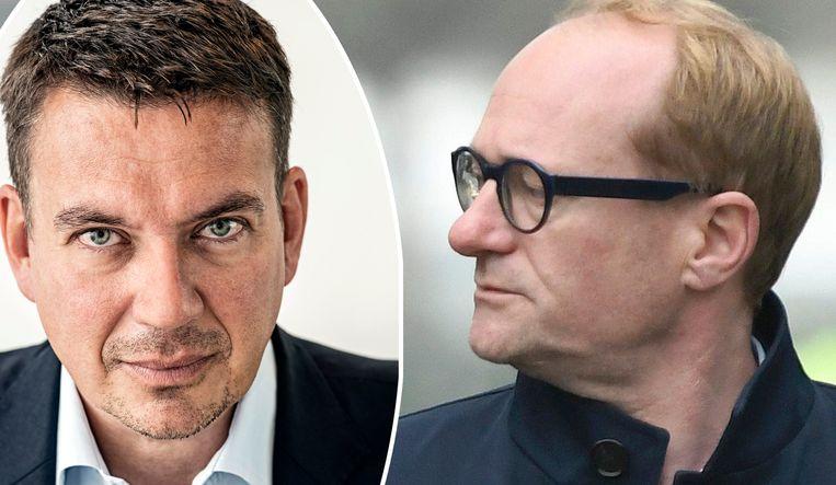 """""""Draagvlak is een gevaarlijk begrip"""", zegt onze editorialist Jan Segers (links)."""