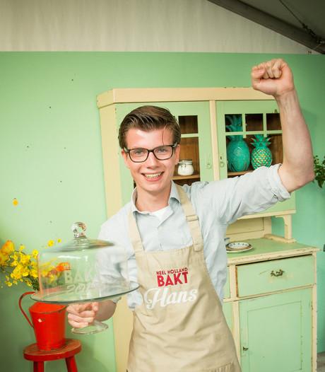 Bossche student Hans wint Heel Holland Bakt: Mensen zeiden 'dat kun je nooit'