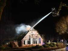 Brand in woonboerderij in Vianen onder controle