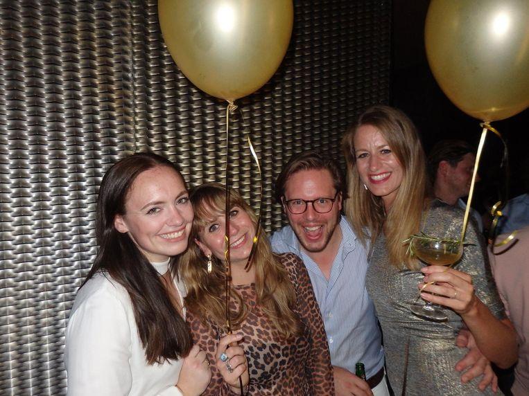 Pilar Philipszoon (PhilMed Zorginnovatie), Jolijn Kouwenhoven (salesconsultant), Yntze Heida (advocaat) en Mayke Goossens (Do You Mind) Beeld Schuim