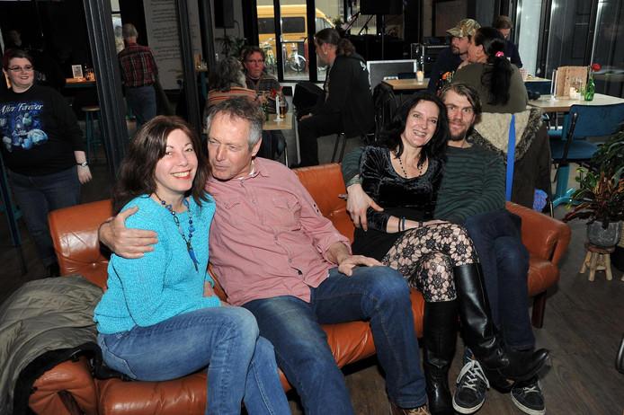 Priscilla Schoots, Hans Groeneveld, Ingrid Huijsdens en Michael Pelle.