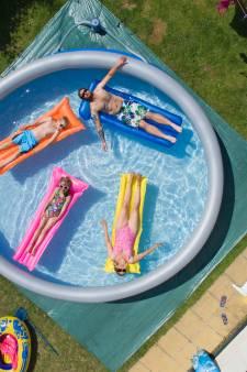 Ook net je zwembad volgegooid met water? We blijken asociaal te zijn