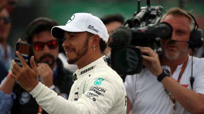 """Hamilton knippert met de ogen: """"Dit is surrealistisch"""""""
