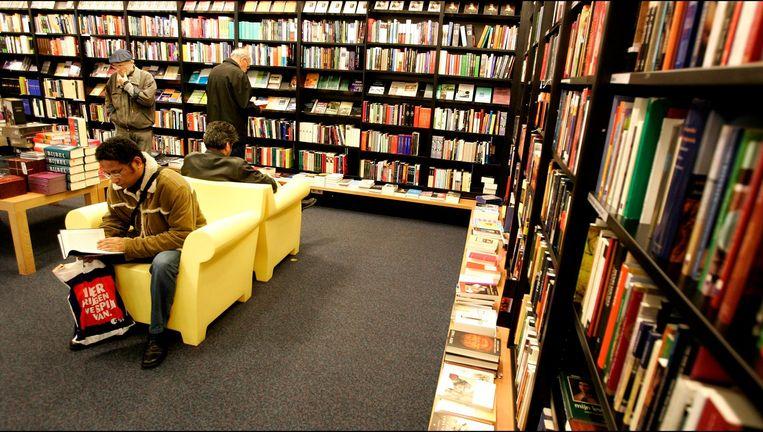 Een boekwinkel. Beeld anp