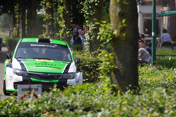 Winnaar Erik van Loon op KP Wintelre
