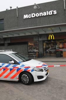 Overval op McDonald's in winkelcentrum Leidsenhage