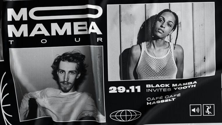 Black Mamba draait samen met Yooth een dj-set in Café Café.