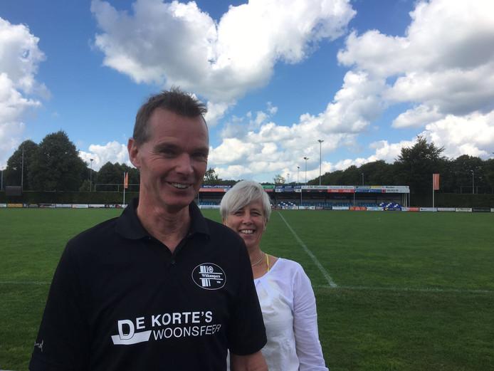 Martin Wijnbergen, trainer van de vrouwen van Witkampers