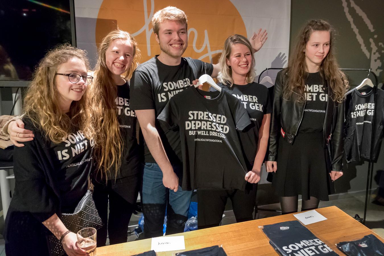 Het Depressiegala werd voor de derde keer gehouden. Dit keer in de Verkadefabriek in Den Bosch.