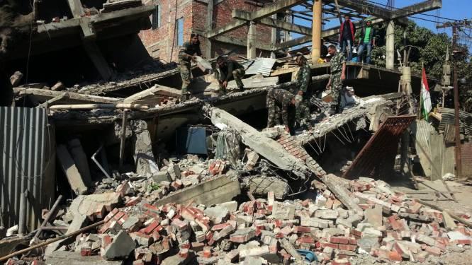 Dodentol aardbeving India stijgt naar tien