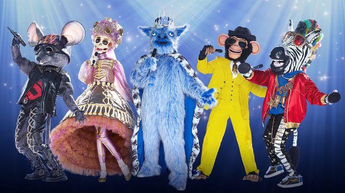 De nieuwe karakters van The Masked Singer zijn eind september te zien op RTL 4.