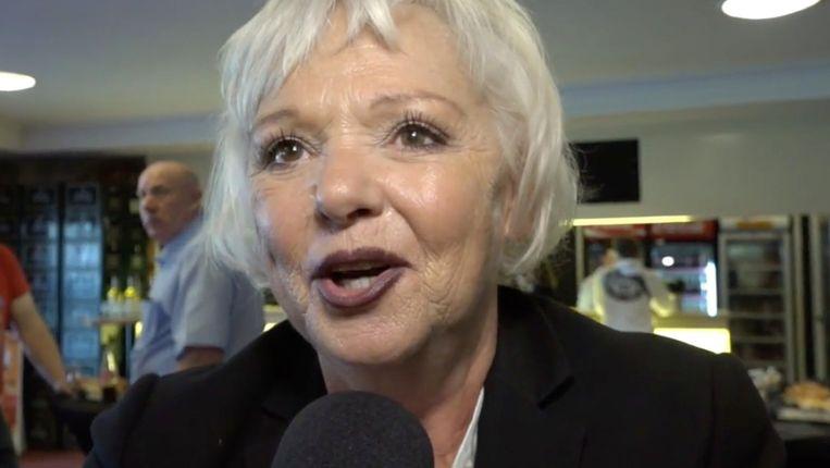 An Nelissen stapte uit de limo aan Theater Elckerlyc om er op het grote podium haar eerste toespraak als burgemeester te geven.