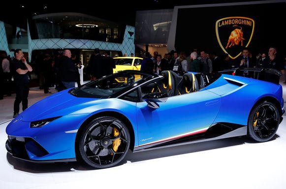 De nieuwe Lamborghini Huracan Performante Spyder