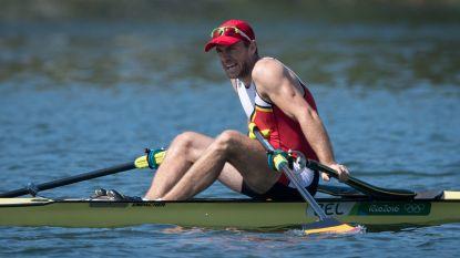 Hannes Obreno stopt met roeien door gezondheidsproblemen