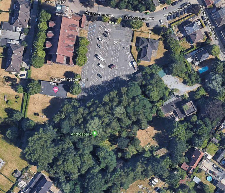 Het nieuwe park ligt in het centrum van de wijk Flora