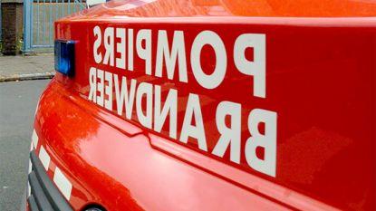 Man bewusteloos bij brand in Laken, buurman belt brandweer