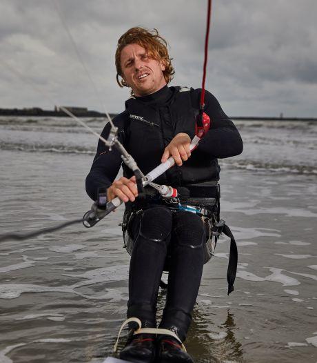 Willem (30) wil van sit-kiten een paralympische sport maken: 'Als je durft te dromen, is er veel mogelijk'