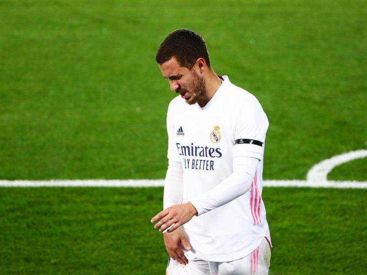 Alwéér blessure voor Eden Hazard: bekijk hier hoe Rode Duivel spierkwetsuur in het rechterbeen opliep