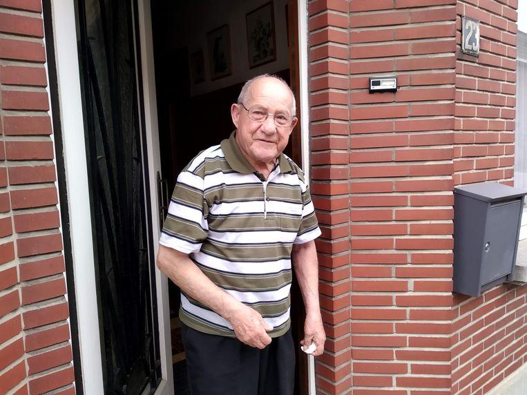 Jean Debulpaep kreeg water in zijn kelder.