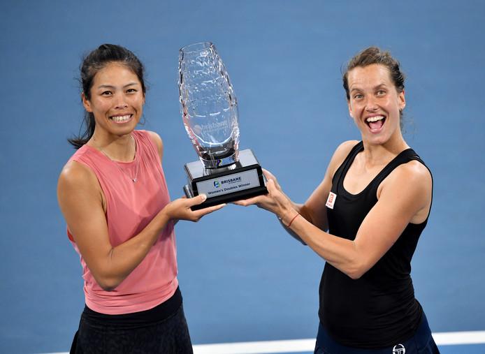 Winnaressen Hsieh Su-Wei en Barbora Strycova.