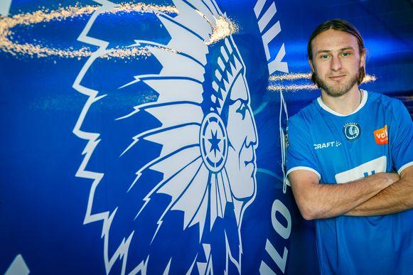 Roman Bezus trok naar AA Gent, één van de amper 40 inkomende transfers tijdens deze wintermercato.
