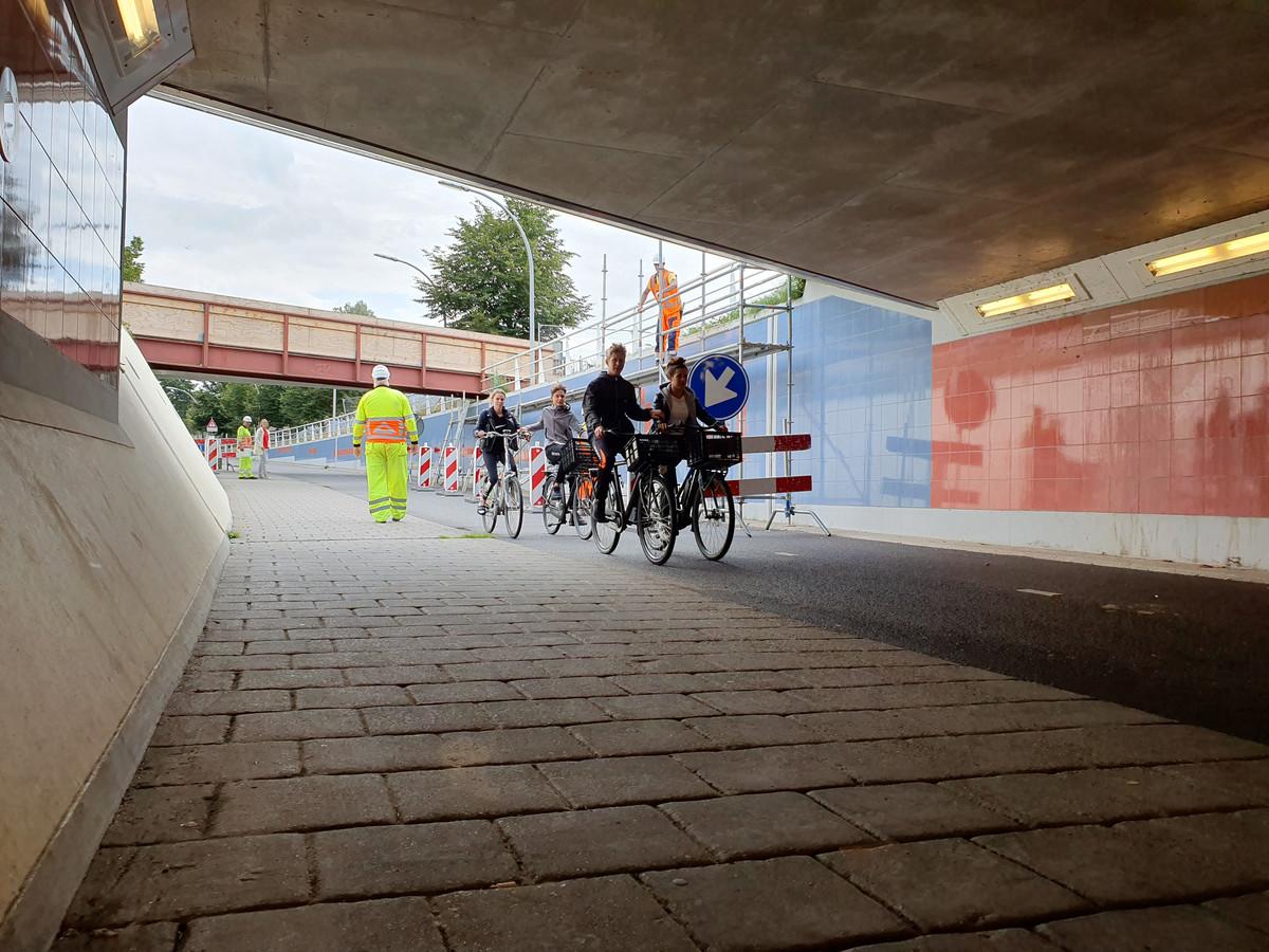 De Koggetunnel blijft tijdens het werk gewoon open, belooft ProRail.
