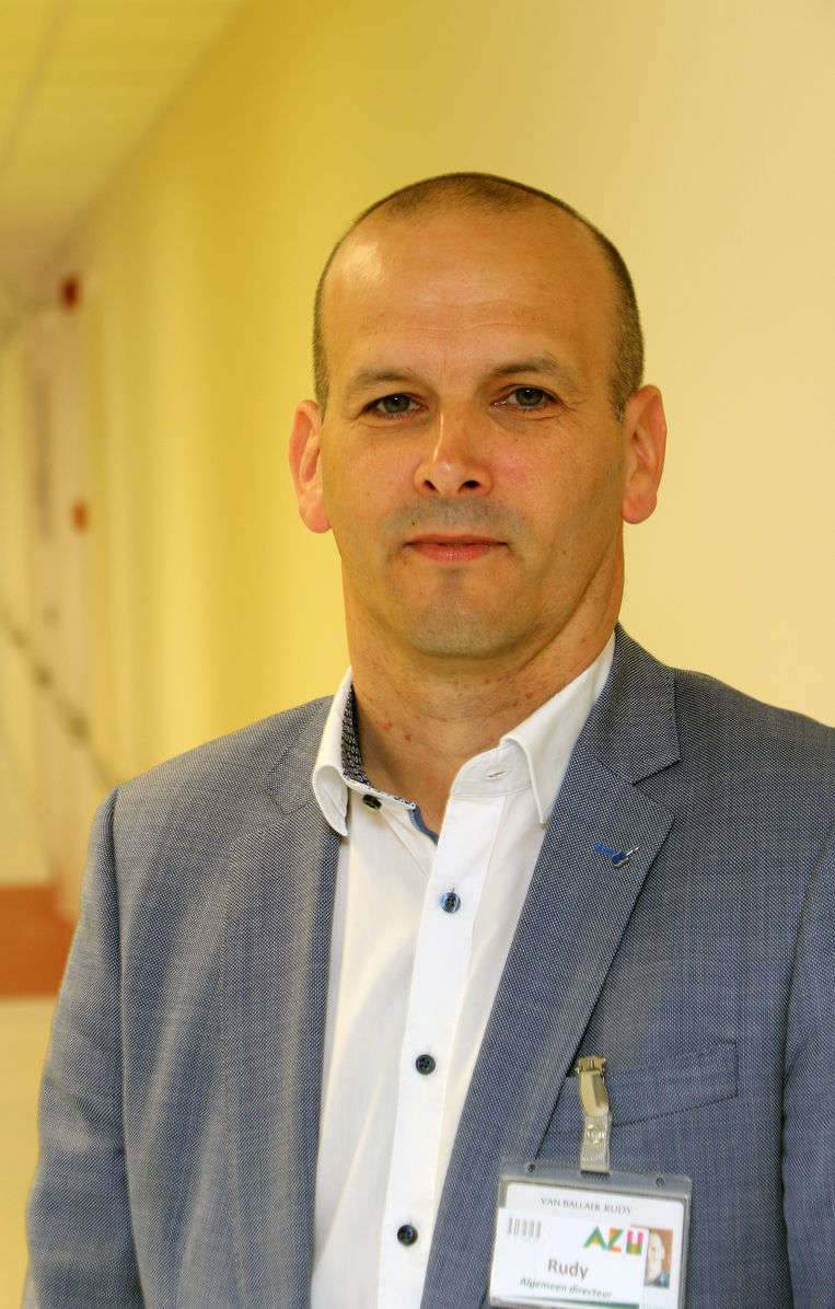 Algemeen directeur Rudy Van Ballaer.