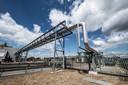 Een biomassacentrale in Cuijk
