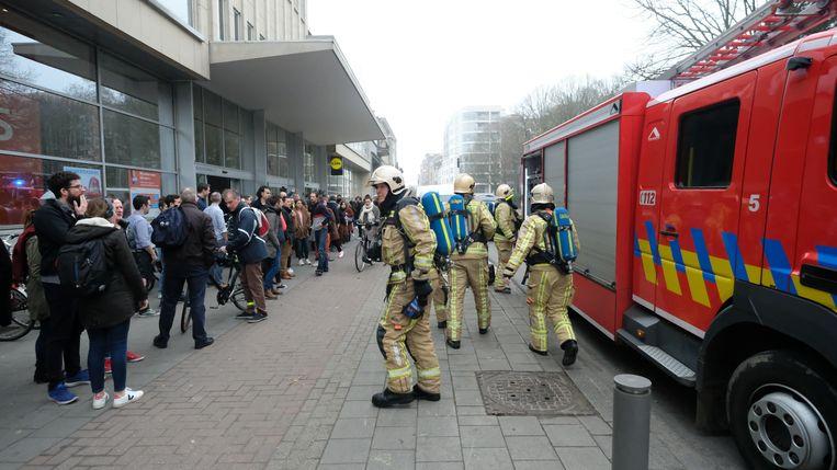 De brandweer was na goed vijf minuten ter plaatse.