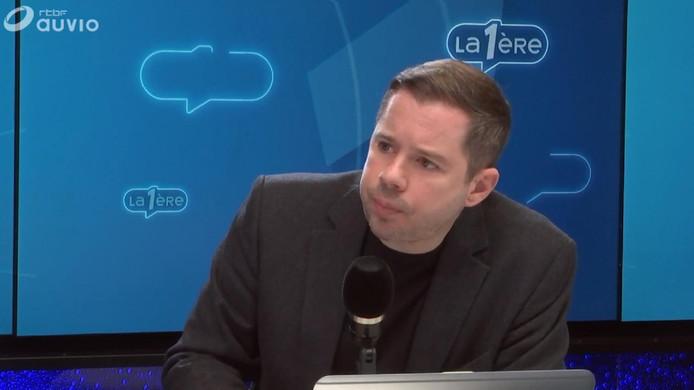Nicolas Baygert, professeur en communication politique