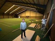 Tenniscentrum Eersel wordt deels trampolinehal