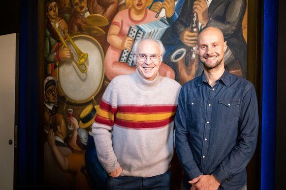 Mark Uytterhoeven en Tom Boonen