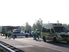 Ongeval op A1 bij Bathmen: rijbanen weer open