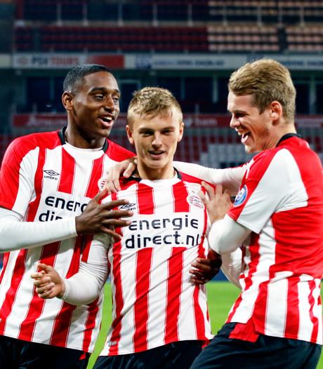 Beloften PSV presteren maandag veel beter dan op vrijdag