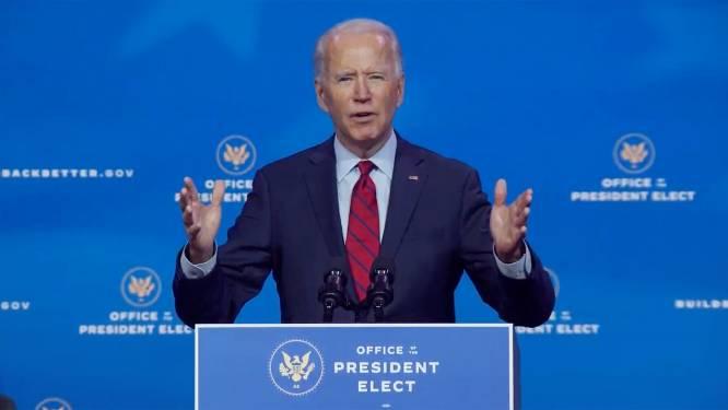Joe Biden wil 100 miljoen Amerikanen vaccineren tijdens eerste 100 dagen van zijn ambtstermijn