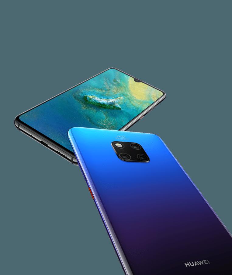 De 'gewone' Huawei Mate 20.