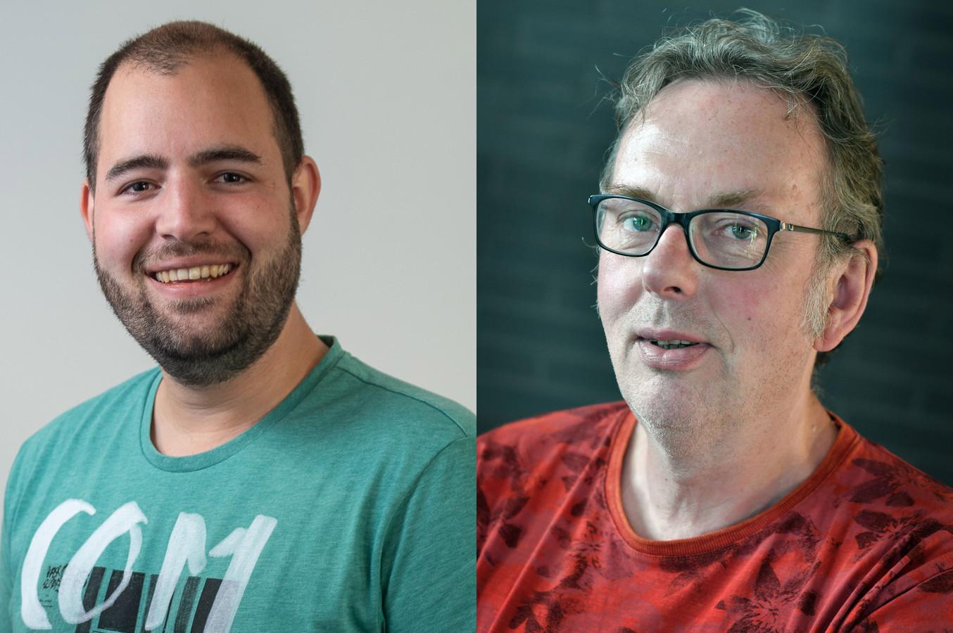 Wilco Louwes en Dick Janssen
