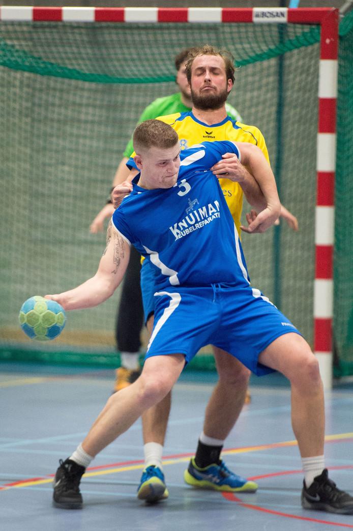 Archieffoto van handballers van Hastu
