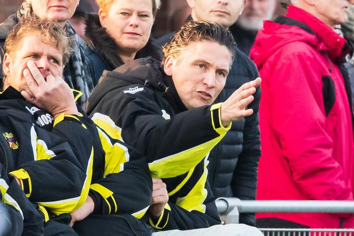 Vios Beltrum-trainer Manfred Graven (rechts).