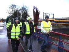 Weinig animo voor Gele Hesjes-protest in Meppel: 7 mensen de straat op