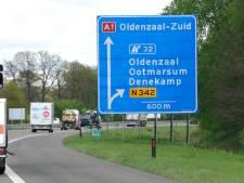 VVD Overijssel wil aanpak onveilige afrit A1 bij Oldenzaal