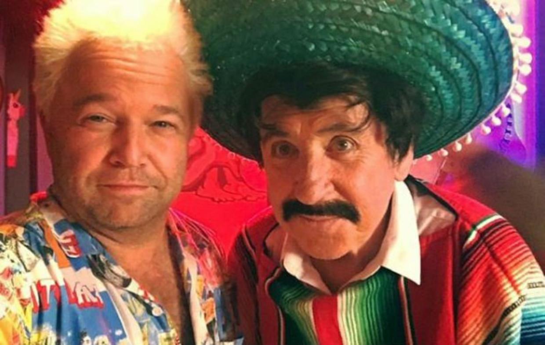 Sven De Ridder en Johnny Voners in 'Ge hadt erbij moeten zijn' Beeld RV