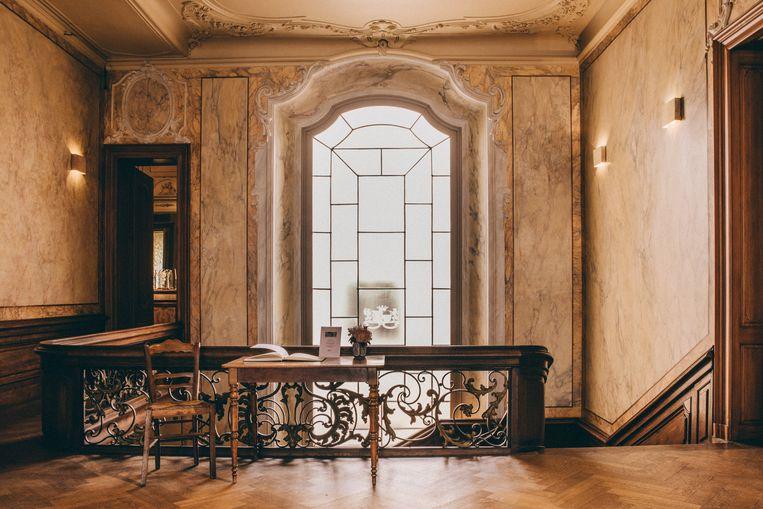 De vestibule op de eerste verdieping