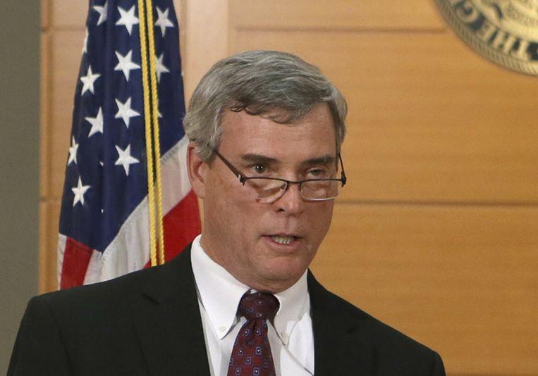 De omstreden officier van justitie in de Michael Brown-zaak, Bob McCulloch. Beeld null
