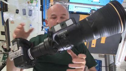 De duurste verzending ooit? Cameraset naar ruimtestation ISS sturen kost zeker 150.000 dollar